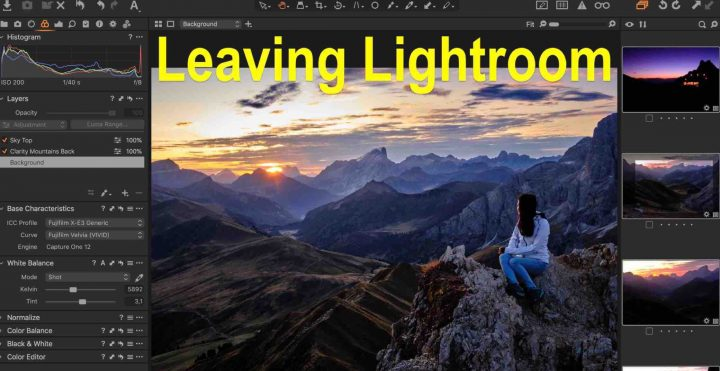It Was Inevitable: I am Leaving Lightroom for Capture One Pro - Fuji Rumors
