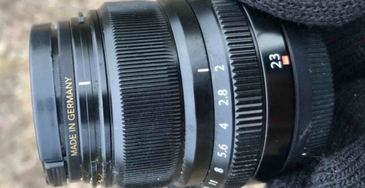 Fujinon XF Lens Gets Lost in Wilderness and Survives 4 Months of Thunderstorms and Extreme Temperatures
