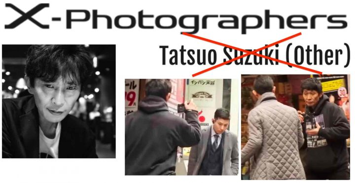 Fujifilm Removes Tatsuo Suzuki from X Photographer Program for his Controversial Steet Photography Shooting Style in X100V Video - Fuji Rumors