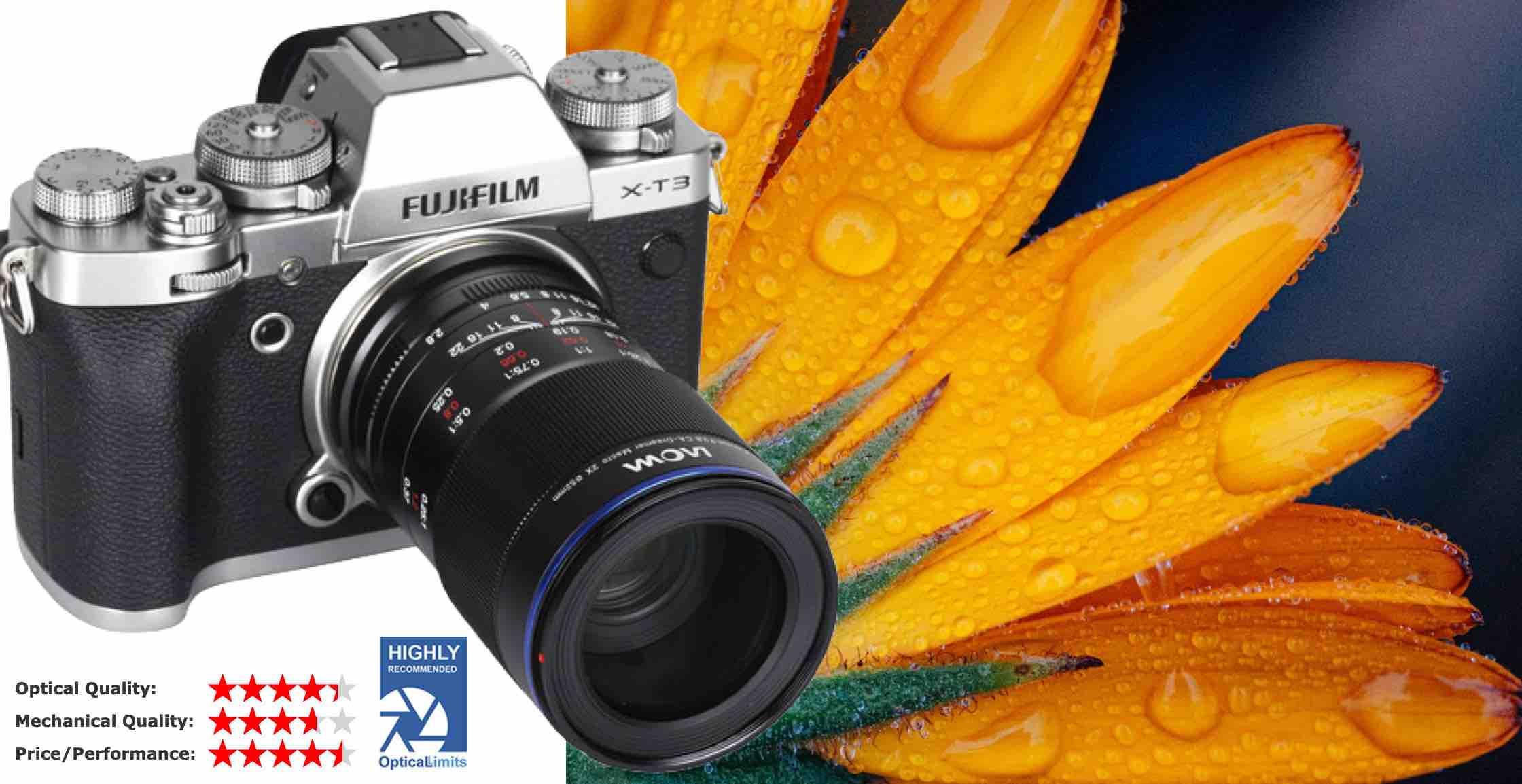 Venus Laowa 65mm f//2.8 2X Ultra Macro APO Lens for Fuji X