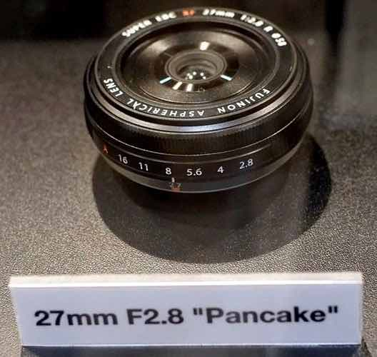 first mock ups of the XF27mm f/2.8 had an aperture ring