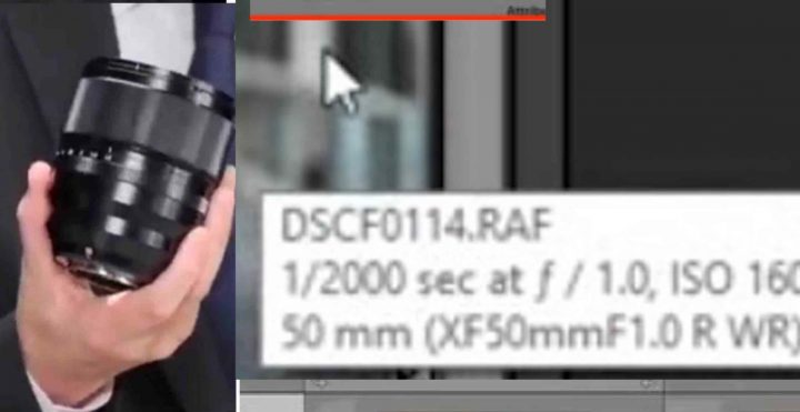 LIVE NOW: Fujinon XF50mmF1.0 Beta Tester Shows First Sample Images
