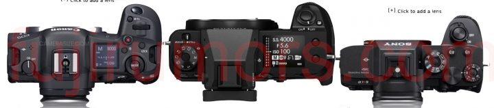 Canon R5 vs Fujifilm GFX100S vs Sony A7IV