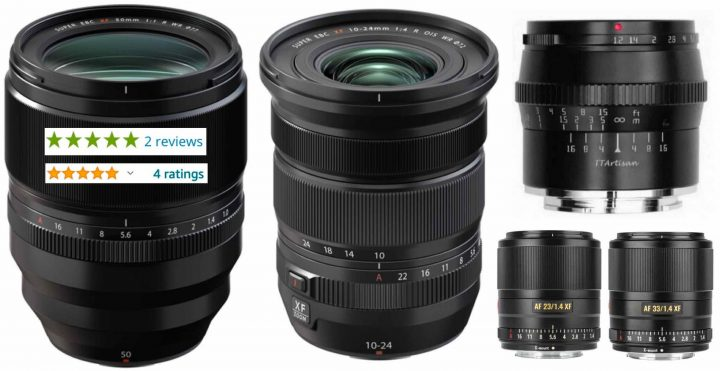 Fujinon XF50mmF1.0 and XF10-24mmF4 MK II Reviews, Hope for XF18mmF2 MK II, Viltrox, TTartisans and Much More – Lens Roundup