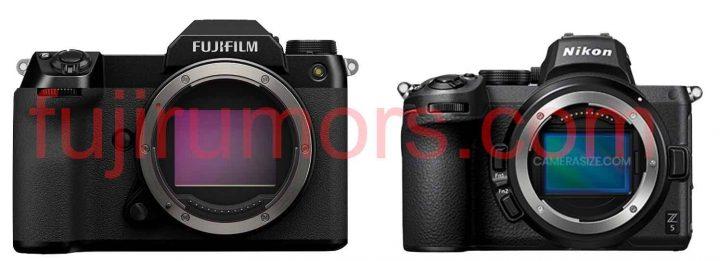 Fujifilm GFX100S vs Nikon Z5
