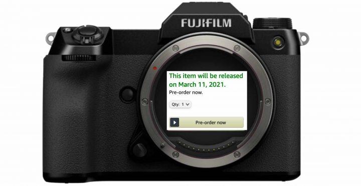 Fujifilm GFX100S Back for Pre-Order at AmazonUS and Already Shipping in EU - Fuji Rumors
