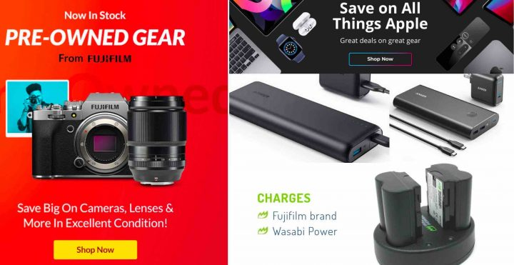 No Official Fujifilm Deals in USA? Check out the Used Fujifilm X/GFX Gear Offers