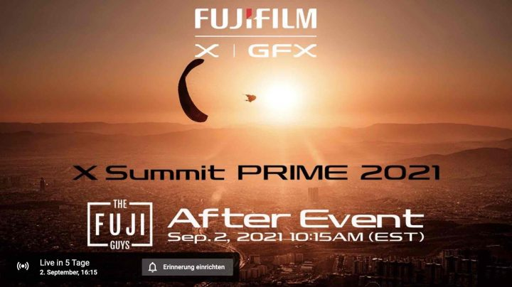 Fuji Guys After Event at 10:15 AM EST will be covered LIVE on FujiRumors in the Live Blog Starting at 10AM