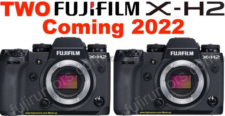 Fujifilm X-H2 mockup (not the real camera)