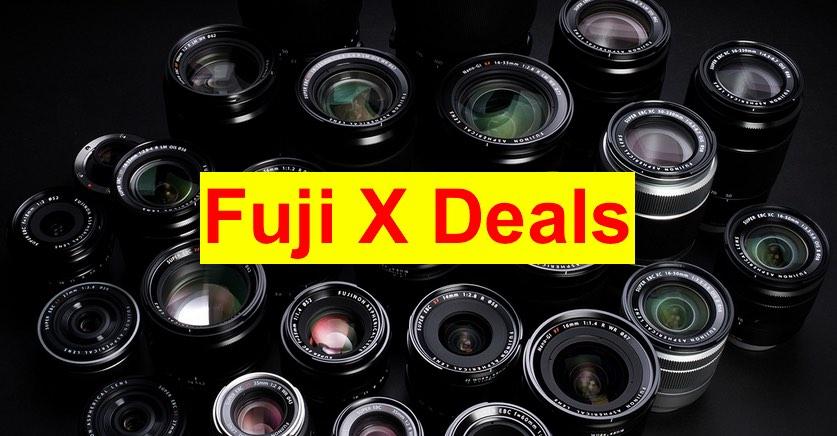 Fuji X Deals