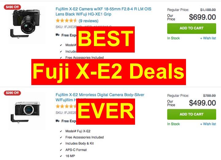 X-E2 deals
