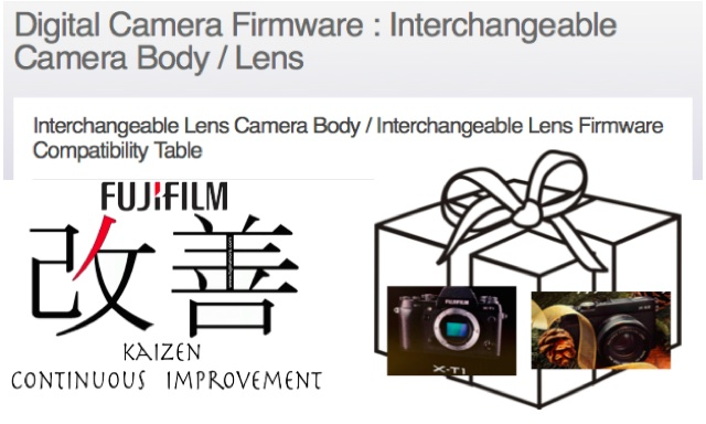 BIG KAIZEN FIRMWARE UPDATE Available For X-T1, X-E2, X-E1 & X-PRO1 … Download Your New X-T1 / X-E2 :)