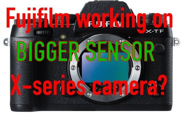 Fuji Working On Bigger Sensor Camera. Some XF Lenses Already Designed To Cover Bigger Sensor! (SRP)
